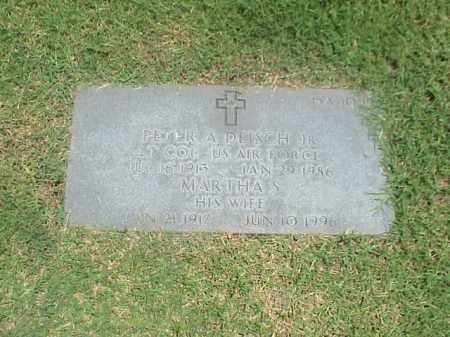 DEISCH, MARTHA S - Pulaski County, Arkansas | MARTHA S DEISCH - Arkansas Gravestone Photos