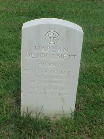 DEJOURNETT (VETERAN WWI), HARLAN - Pulaski County, Arkansas | HARLAN DEJOURNETT (VETERAN WWI) - Arkansas Gravestone Photos