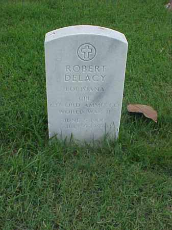 DELACY (VETERAN WWII), ROBERT - Pulaski County, Arkansas | ROBERT DELACY (VETERAN WWII) - Arkansas Gravestone Photos