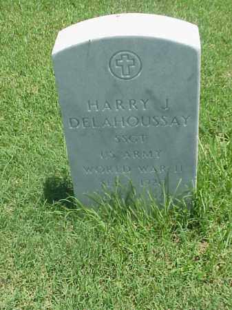 DELAHOUSSAY (VETERAN WWII), HARRY J - Pulaski County, Arkansas | HARRY J DELAHOUSSAY (VETERAN WWII) - Arkansas Gravestone Photos