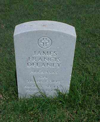 DELANEY (VETERAN KOR), JAMES FRANCIS - Pulaski County, Arkansas | JAMES FRANCIS DELANEY (VETERAN KOR) - Arkansas Gravestone Photos