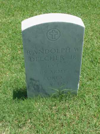 DELCHER, JR (VETERAN KOR), RANDOLPH W - Pulaski County, Arkansas | RANDOLPH W DELCHER, JR (VETERAN KOR) - Arkansas Gravestone Photos