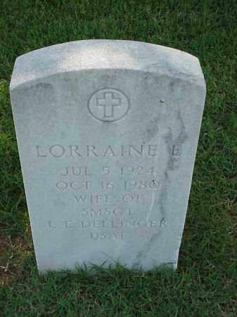 DELLINGER, LORRAINE E - Pulaski County, Arkansas | LORRAINE E DELLINGER - Arkansas Gravestone Photos