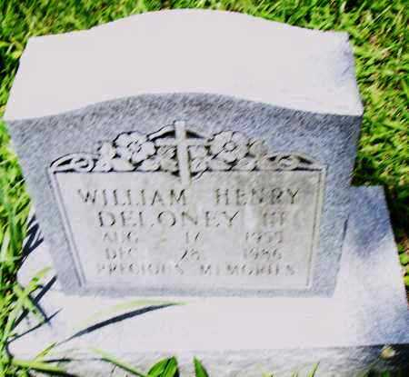 DELONEY III, WILLIAM HENRY - Pulaski County, Arkansas | WILLIAM HENRY DELONEY III - Arkansas Gravestone Photos