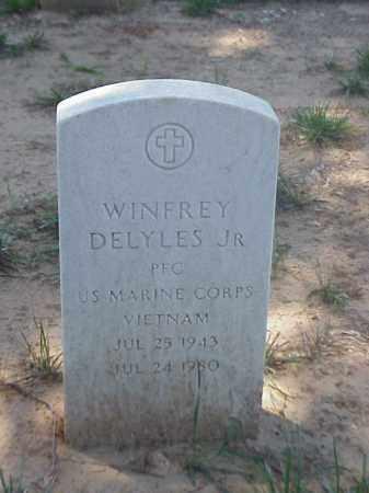 DELYLES, JR (VETERAN VIET), WINFREY - Pulaski County, Arkansas   WINFREY DELYLES, JR (VETERAN VIET) - Arkansas Gravestone Photos