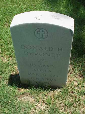 DEMONEY (VETERAN KOR), DONALD H - Pulaski County, Arkansas | DONALD H DEMONEY (VETERAN KOR) - Arkansas Gravestone Photos