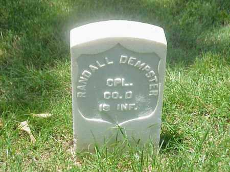 DEMPSTER (VETERAN UNION), RANDALL - Pulaski County, Arkansas | RANDALL DEMPSTER (VETERAN UNION) - Arkansas Gravestone Photos