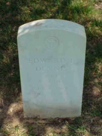 DENNIS (VETERAN WWII), EDWARD L - Pulaski County, Arkansas | EDWARD L DENNIS (VETERAN WWII) - Arkansas Gravestone Photos