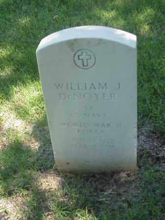 DENOYER (VETERAN 2 WARS), WILLIAM J - Pulaski County, Arkansas | WILLIAM J DENOYER (VETERAN 2 WARS) - Arkansas Gravestone Photos