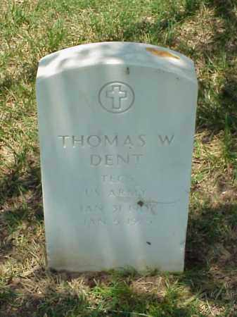 DENT (VETERAN WWII), THOMAS W - Pulaski County, Arkansas | THOMAS W DENT (VETERAN WWII) - Arkansas Gravestone Photos