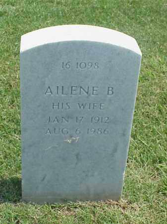 DENTON, AILENE B. - Pulaski County, Arkansas | AILENE B. DENTON - Arkansas Gravestone Photos