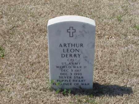DERRY (VETERAN WWII), ARTHUR LEON - Pulaski County, Arkansas | ARTHUR LEON DERRY (VETERAN WWII) - Arkansas Gravestone Photos
