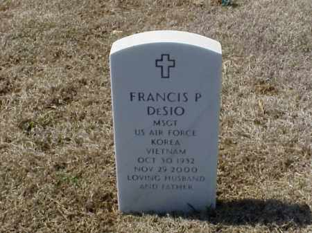 DESIO (VETERAN 2 WARS), FRANCIS P - Pulaski County, Arkansas | FRANCIS P DESIO (VETERAN 2 WARS) - Arkansas Gravestone Photos