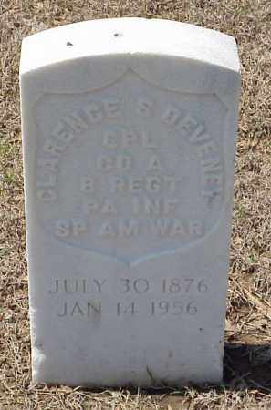 DEVENEY  (VETERAN SAW), CLARENCE S - Pulaski County, Arkansas | CLARENCE S DEVENEY  (VETERAN SAW) - Arkansas Gravestone Photos