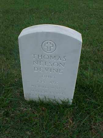 DEVINE (VETERAN WWI), THOMAS NELSON - Pulaski County, Arkansas | THOMAS NELSON DEVINE (VETERAN WWI) - Arkansas Gravestone Photos