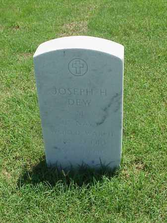 DEW (VETERAN WWII), JOSEPH H - Pulaski County, Arkansas | JOSEPH H DEW (VETERAN WWII) - Arkansas Gravestone Photos