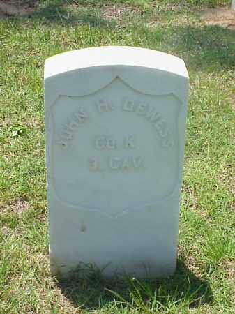 DEWESS (VETERAN UNION), JOHN H - Pulaski County, Arkansas | JOHN H DEWESS (VETERAN UNION) - Arkansas Gravestone Photos