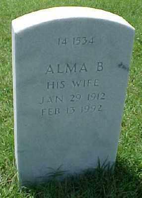 DEXTER, ALMA B. - Pulaski County, Arkansas | ALMA B. DEXTER - Arkansas Gravestone Photos