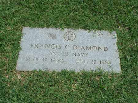 DIAMOND (VETERAN), FRANCIS C - Pulaski County, Arkansas | FRANCIS C DIAMOND (VETERAN) - Arkansas Gravestone Photos