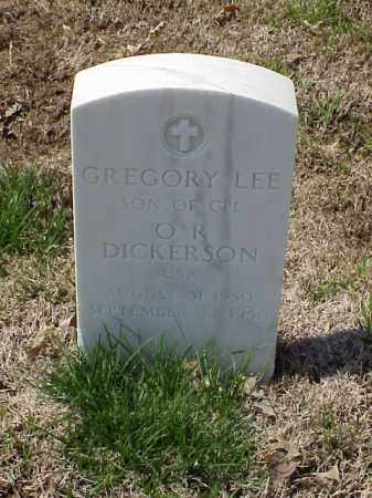 DICKERSON, GREGORY LEE - Pulaski County, Arkansas | GREGORY LEE DICKERSON - Arkansas Gravestone Photos