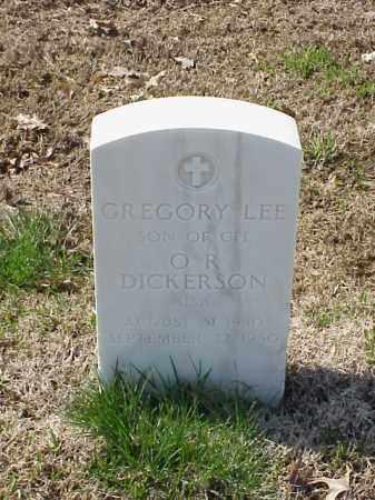 DICKERSON, GREGORY LEE - Pulaski County, Arkansas | GREGORY LEE DICKERSON - Arkansas Gravestone Photos