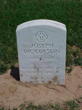 DICKERSON (VETERAN WWI), JOSEPH - Pulaski County, Arkansas | JOSEPH DICKERSON (VETERAN WWI) - Arkansas Gravestone Photos