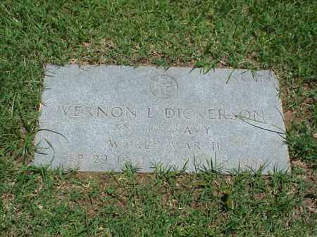 DICKERSON (VETERAN WWII), VERNON L - Pulaski County, Arkansas | VERNON L DICKERSON (VETERAN WWII) - Arkansas Gravestone Photos