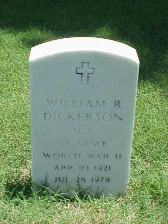 DICKERSON (VETERAN WWII), WILLIAM R - Pulaski County, Arkansas | WILLIAM R DICKERSON (VETERAN WWII) - Arkansas Gravestone Photos