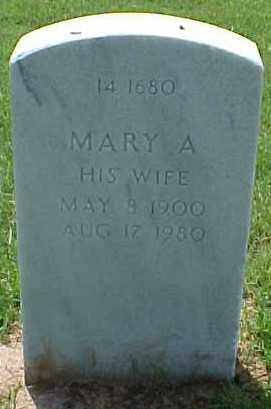 DICKSON, MARY A - Pulaski County, Arkansas   MARY A DICKSON - Arkansas Gravestone Photos