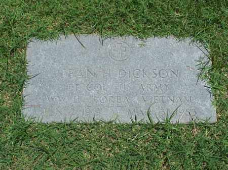 DICKSON (VETERAN 3 WARS), JEAN H - Pulaski County, Arkansas | JEAN H DICKSON (VETERAN 3 WARS) - Arkansas Gravestone Photos