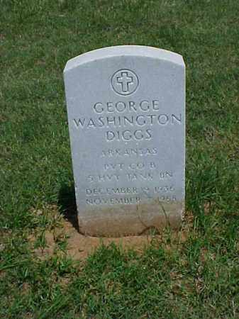DIGGS (VETERAN KOR), GEORGE WASHINGTON - Pulaski County, Arkansas | GEORGE WASHINGTON DIGGS (VETERAN KOR) - Arkansas Gravestone Photos