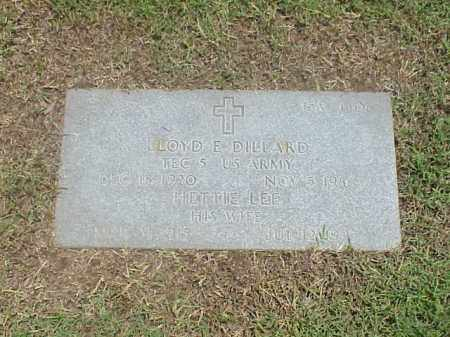 DILLARD, HETTIE LEE - Pulaski County, Arkansas | HETTIE LEE DILLARD - Arkansas Gravestone Photos