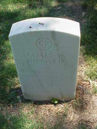 DILLARD (VETERAN WWI), JAMES W - Pulaski County, Arkansas | JAMES W DILLARD (VETERAN WWI) - Arkansas Gravestone Photos