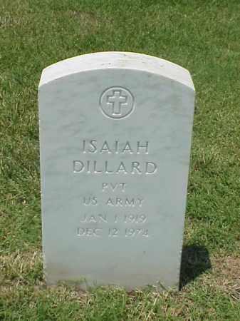DILLARD (VETERAN WWII), ISAIAH - Pulaski County, Arkansas | ISAIAH DILLARD (VETERAN WWII) - Arkansas Gravestone Photos