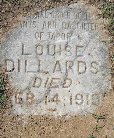 DILLARDS, LOUISE - Pulaski County, Arkansas | LOUISE DILLARDS - Arkansas Gravestone Photos