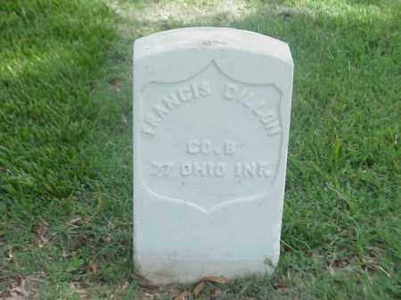 DILLON (VETERAN UNION), FRANCIS - Pulaski County, Arkansas | FRANCIS DILLON (VETERAN UNION) - Arkansas Gravestone Photos