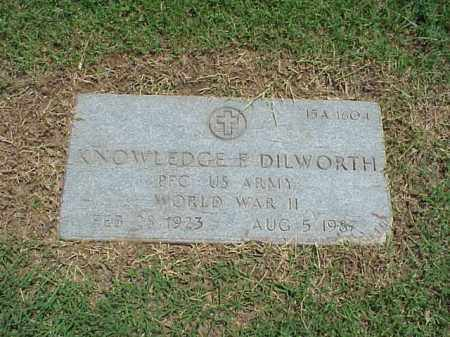 DILWORTH (VETERAN WWII), KNOWLEDGE E - Pulaski County, Arkansas | KNOWLEDGE E DILWORTH (VETERAN WWII) - Arkansas Gravestone Photos