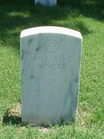 DINGES (VETERAN VIET), WILLIAM C - Pulaski County, Arkansas | WILLIAM C DINGES (VETERAN VIET) - Arkansas Gravestone Photos