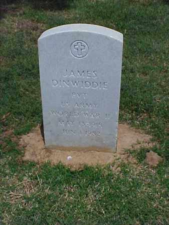 DINWIDDIE (VETERAN WWII), JAMES - Pulaski County, Arkansas | JAMES DINWIDDIE (VETERAN WWII) - Arkansas Gravestone Photos