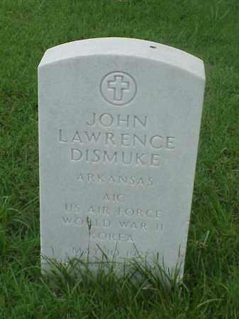 DISMUKE (VETERAN 2 WARS), JOHN LAWRENCE - Pulaski County, Arkansas | JOHN LAWRENCE DISMUKE (VETERAN 2 WARS) - Arkansas Gravestone Photos