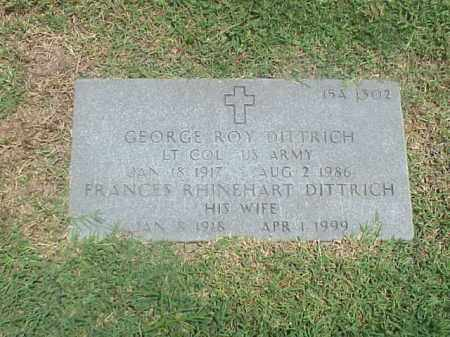DITTRICH (VETERAN WWII), GEORGE ROY - Pulaski County, Arkansas | GEORGE ROY DITTRICH (VETERAN WWII) - Arkansas Gravestone Photos