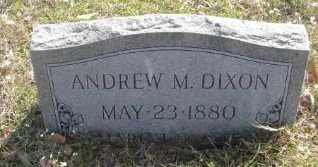 DIXON, ANDREW MARVIN - Pulaski County, Arkansas | ANDREW MARVIN DIXON - Arkansas Gravestone Photos