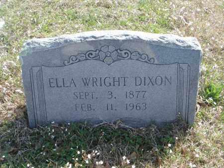 DIXON, ELLA - Pulaski County, Arkansas | ELLA DIXON - Arkansas Gravestone Photos
