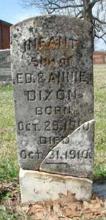 DIXON, INFANT SON - Pulaski County, Arkansas | INFANT SON DIXON - Arkansas Gravestone Photos