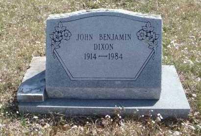 DIXON, JOHN BENJAMIN - Pulaski County, Arkansas | JOHN BENJAMIN DIXON - Arkansas Gravestone Photos