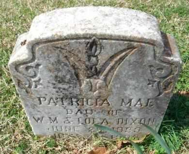 DIXON, PATRICIA MAE - Pulaski County, Arkansas | PATRICIA MAE DIXON - Arkansas Gravestone Photos