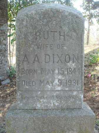 JONES DIXON, RUTH CAROLINE - Pulaski County, Arkansas | RUTH CAROLINE JONES DIXON - Arkansas Gravestone Photos