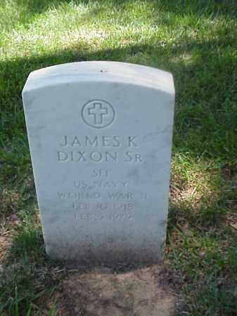 DIXON, SR (VETERAN WWII), JAMES K - Pulaski County, Arkansas | JAMES K DIXON, SR (VETERAN WWII) - Arkansas Gravestone Photos