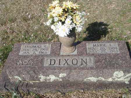 DIXON, THOMAS C - Pulaski County, Arkansas | THOMAS C DIXON - Arkansas Gravestone Photos