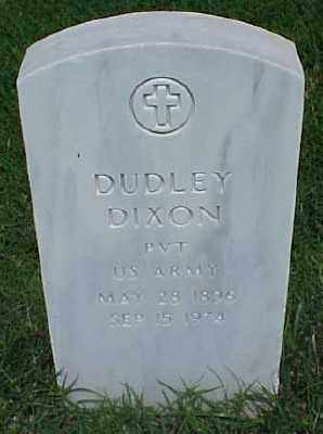 DIXON (VETERAN), DUDLEY - Pulaski County, Arkansas | DUDLEY DIXON (VETERAN) - Arkansas Gravestone Photos